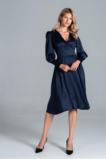 CM6318 Sukienka midi z...