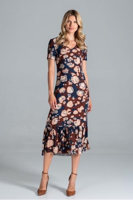 CM6320 Kobieca sukienka...