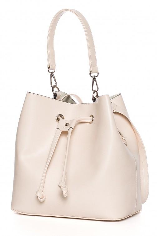 CM3832 Biurowa torba na ramię i do ręki - pudrowa