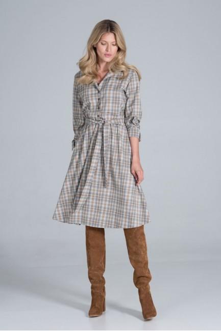 CM6331 Sukienka midi z...