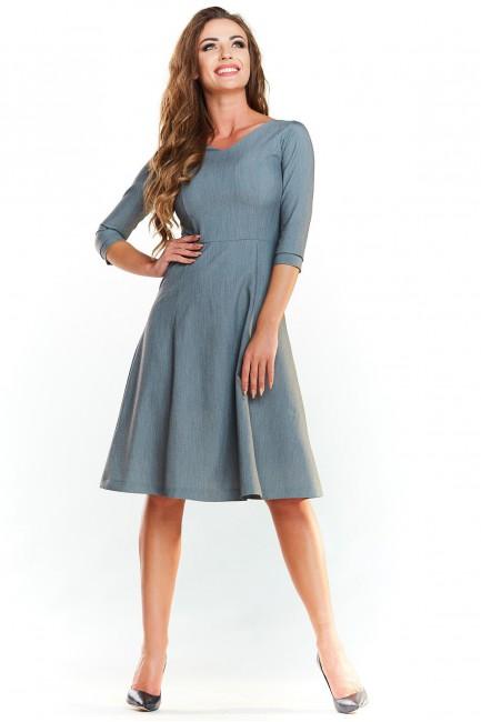 CM4024 Trapezowa sukienka...