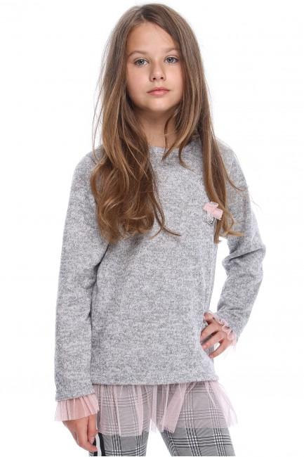 MA113 Dzianinowy sweter z...