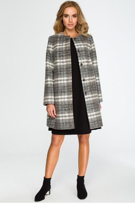 CM4035 Elegancki płaszcz...