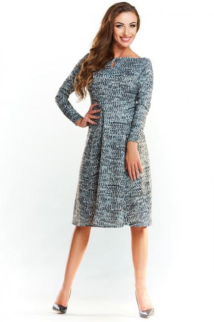 CM4037 Dzianinowa sukienka...