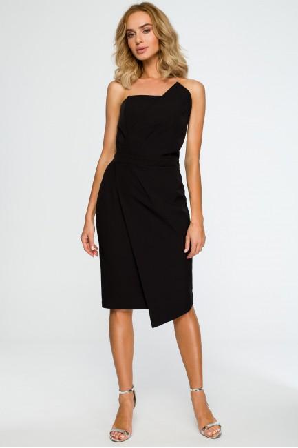 Sukienka gorsetowa - czarna