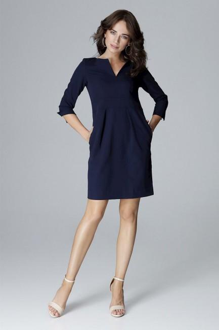 CM4053 Sukienka z wycięciem...