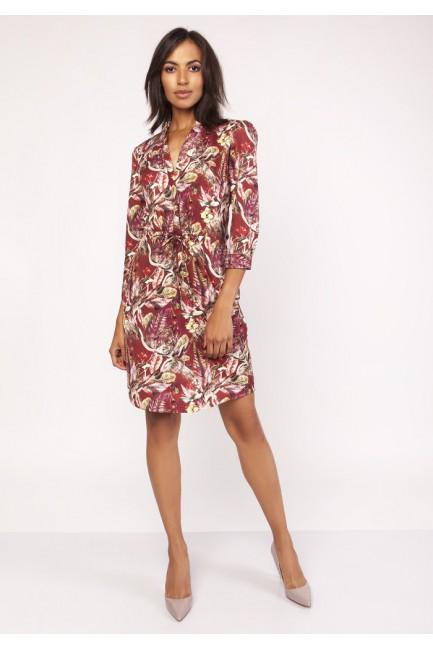 CM3876 Sukienka midi z...