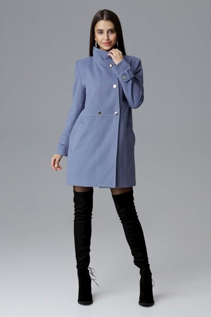 CM4070 Dwurzędowy płaszcz z...