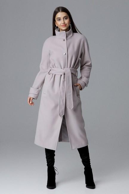 CM4071 Przewiązany płaszcz...