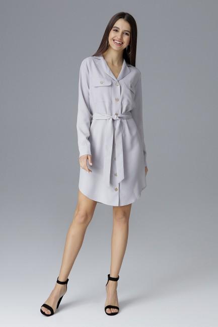 CM4076 Biurowa sukienka na...