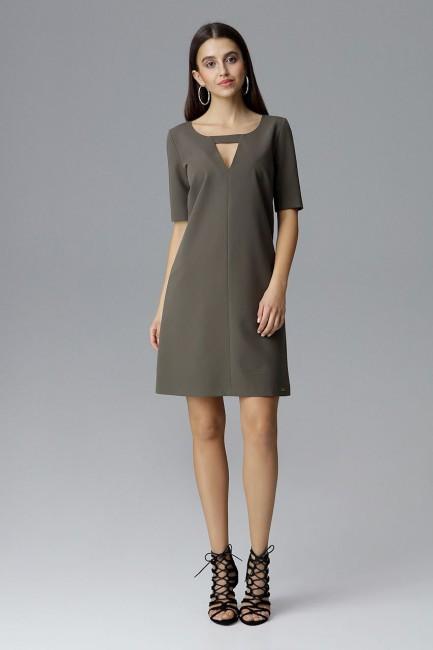 CM4079 Krótka sukienka z...