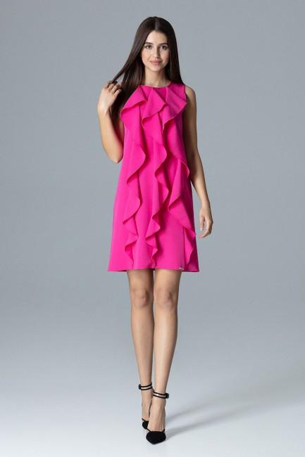 CM4082 Trapezowa sukienka...