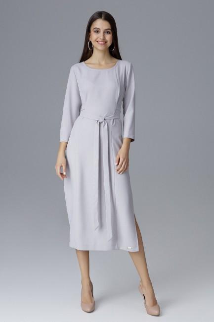 CM4085 Sukienka za kolano z...