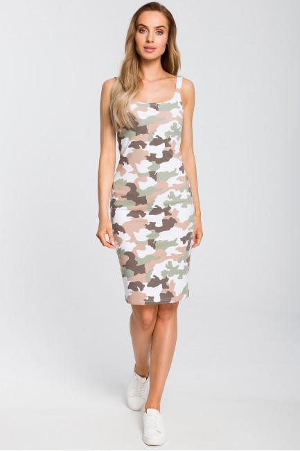 CM4094 Dopasowana sukienka...