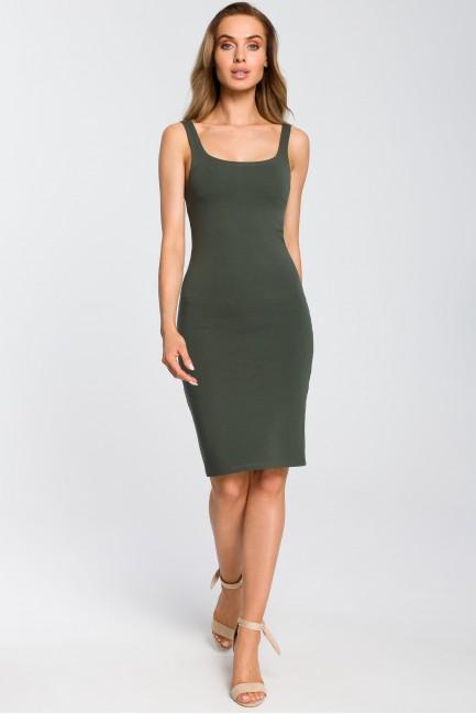 CM4095 Elastyczna sukienka...