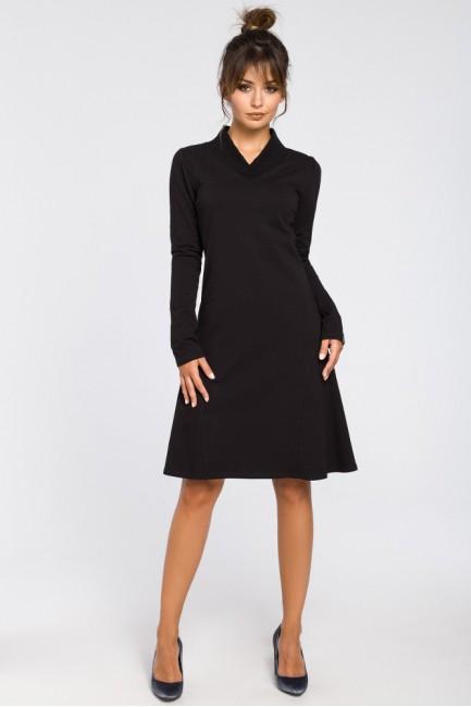 CM3182 Sukienka z klinami i...