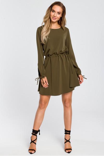 CM4107 Odcinana sukienka z...