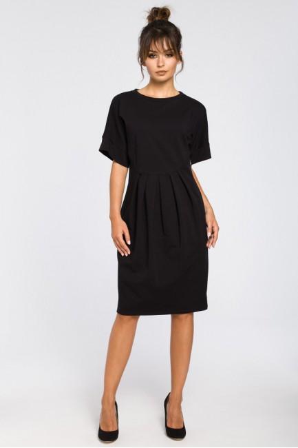 CM3183 Dresowa sukienka z...