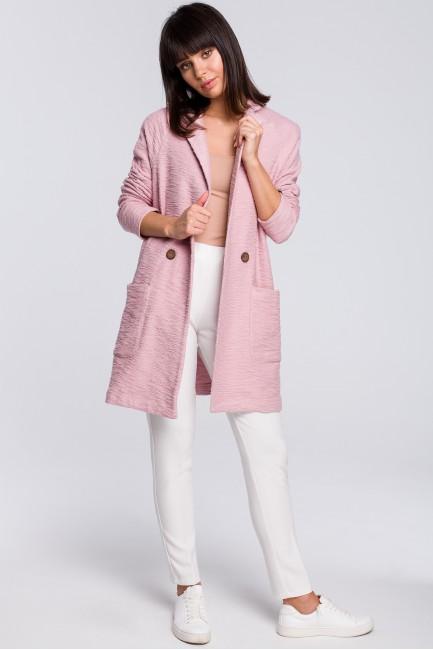 CM4113 Płaszcz na jeden...