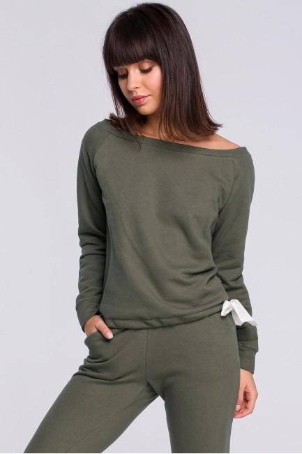 CM4122 Bluza z wiązaniem -...