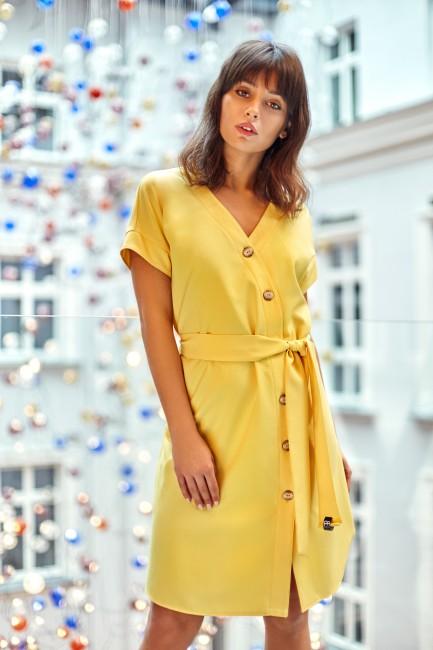 CM4125 Sukienka szmizjerka...