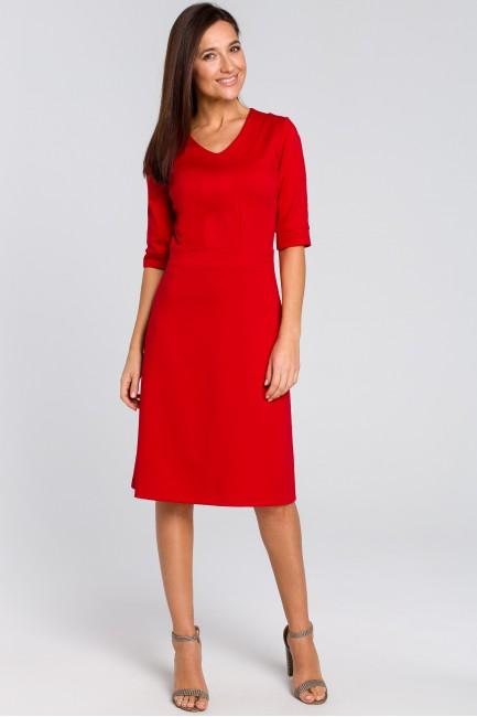 CM4141 Sukienka midi z...