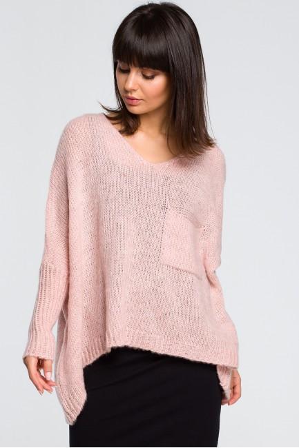 CM4145 Luźny sweter z...