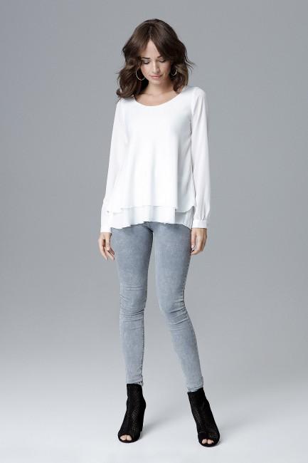 CM4157 Luźna bluzka damska...