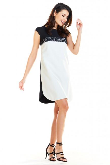 CM4165 Klasyczna sukienka...