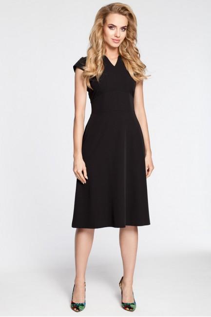 CM3043 Sukienka z szerokim...