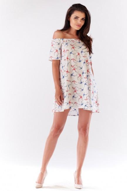 CM3204 Komfortowa sukienka...