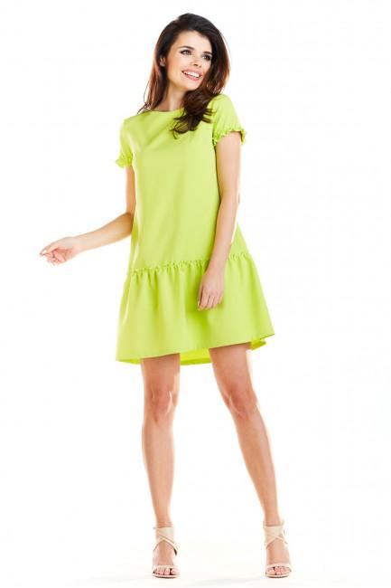 CM4184 Sukienka mini z...