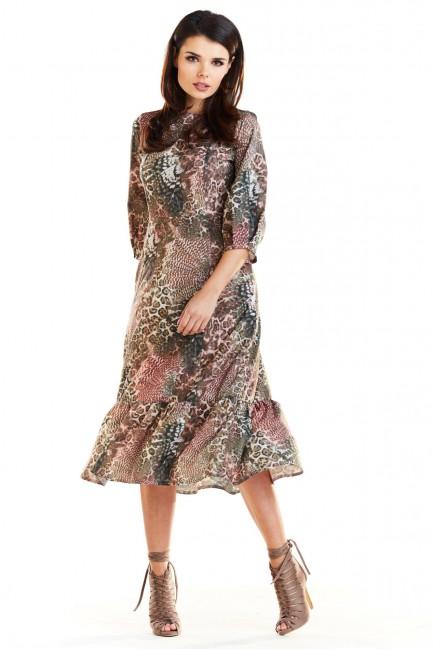 CM4187 Sukienka midi z...