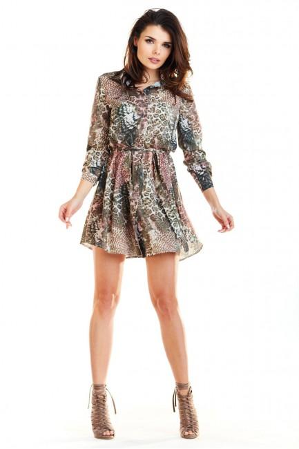 CM4192 Sukienka koszulowa...