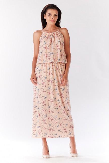 CM3213 Długa sukienka z...