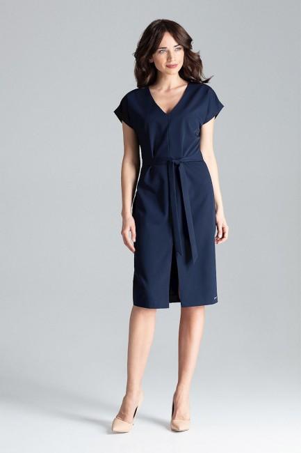 CM4258 Sukienka z rękawem...