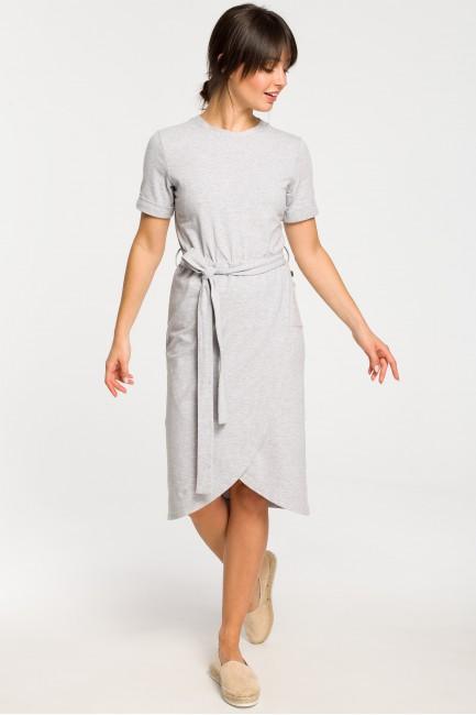 CM4266 Sukienka z zakładką...