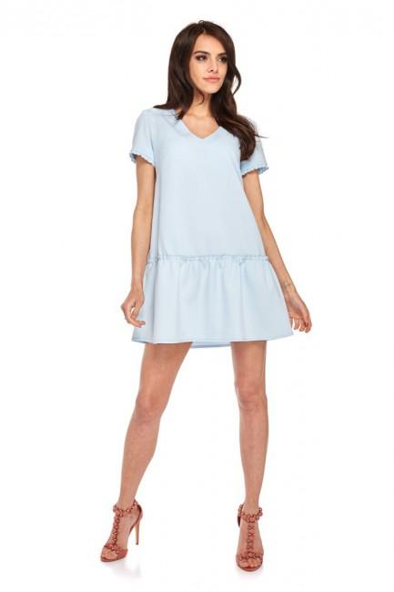 CM4273 Klasyczna sukienka z...