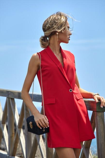 CM4317 Sukienka żakietowa...