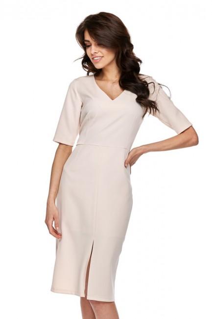 CM4278 Biurowa sukienka z...