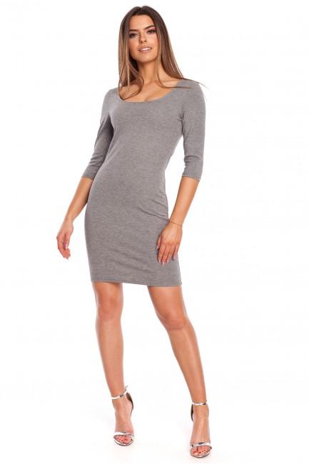 CM4321 Kobieca sukienka z...