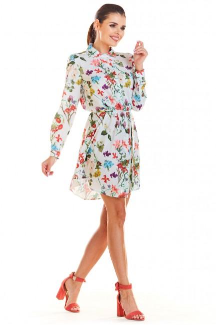 CM4342 Sukienka z wiązaniem...