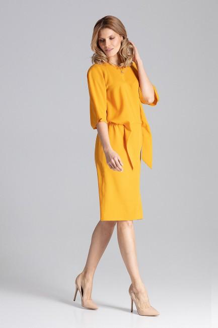 CM4347 Delikatna sukienka z...