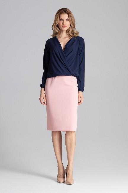 CM4350 Elegancka bluzka z...