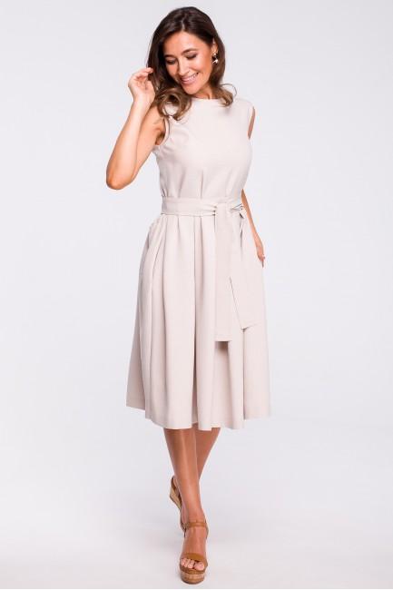 CM4368 Elegancka sukienka w...