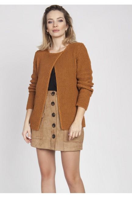 CM4378 Asymetryczny sweter...