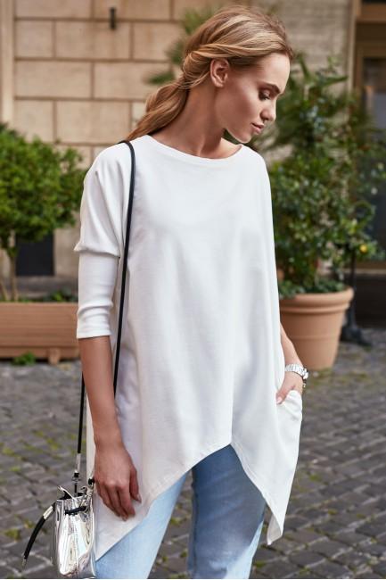 CM2905 Asymetryczna bluzka...